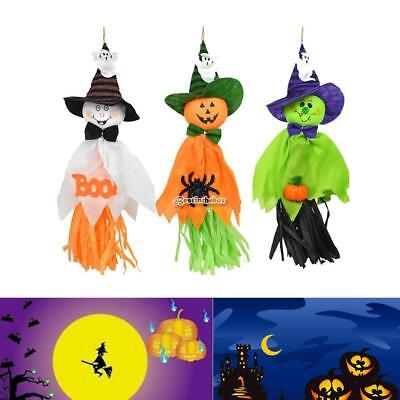 Pumpkin Ghost Pendant Ornament for Halloween Party Home Decoration B98B 01