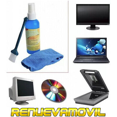 Kit Limpiador Para Camaras de Fotos Limpia Lente Pantallas LCD Limpiar TV...