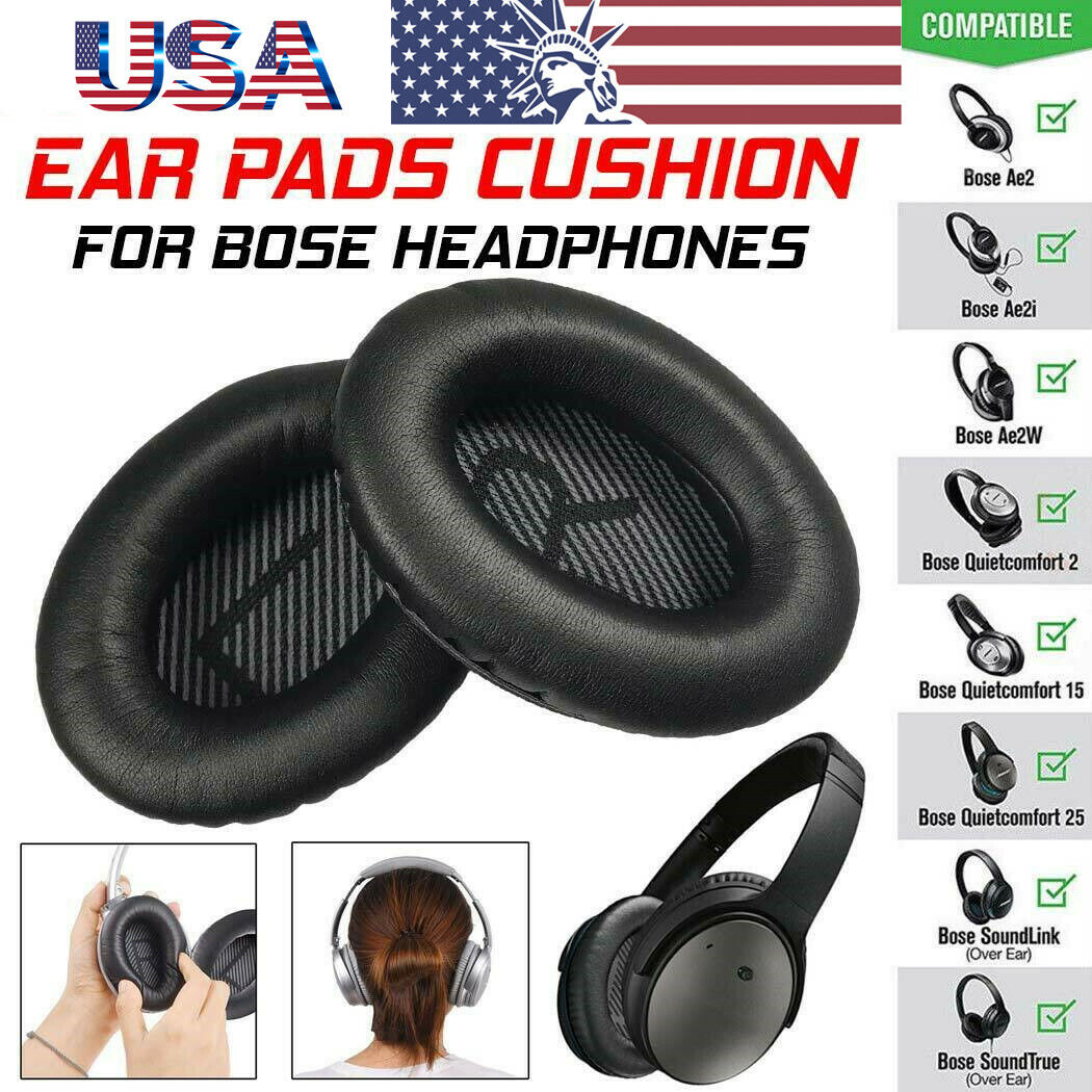 Replacement Ear Pads Cushion for Bose Quiet Comfort QC25 QC1