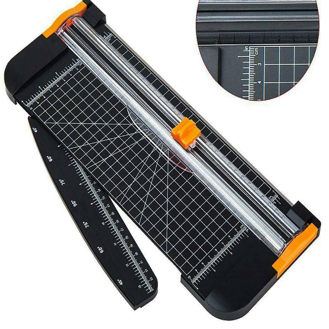 Firbo A4 Photo Paper Cutter Guillotine Trimmer Ruler Office