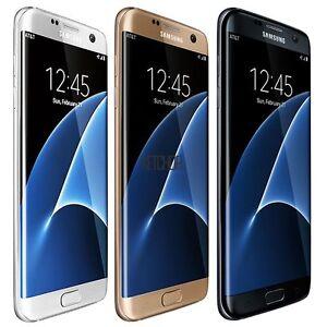Samsung-Galaxy-S7-Edge-32GB-Unlocked-GSM-Smartphone-Cell-Phone-White-Gold-Black