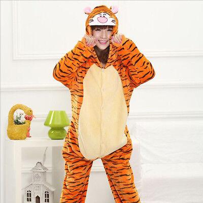 Unisex Women Adult Pajamas Tiger Cosplay Costume Animal Sleepwear - Women Tiger Costume