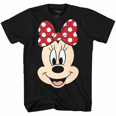 Disney Minnie Mouse Face Big Smile T-Shirt - Minnie Face