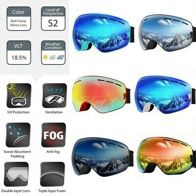 unho Skibrille für Frauen Herren Kinder Ski Damenbrille auch für Brillenträger