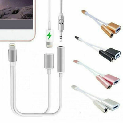 for Lightning to 3.5mm AUX Audio Adapter Headphone Cable For iPhone 7 8 X XS Max