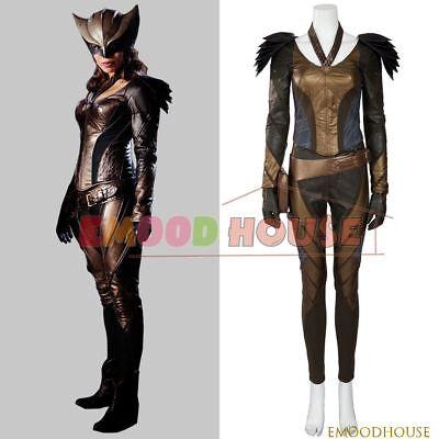 DC's Legends of Tomorrow Hawkgirl Cosplay Costume Green Arrow Superhero Full Set