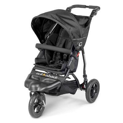Out n About GT Single Baby Pushchair (Raven Black) - Suitable From...