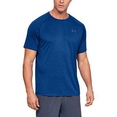 Under Armour Tech 2.0 T-Shirt Fitness Shirt Laufshirt T-Shirtblau [1326413-401] ()