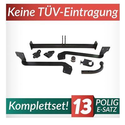 E-SATZ 7-polig NEU Anhängerkupplung starr PEUGEOT PARTNER II Kurz L1 ab 2008