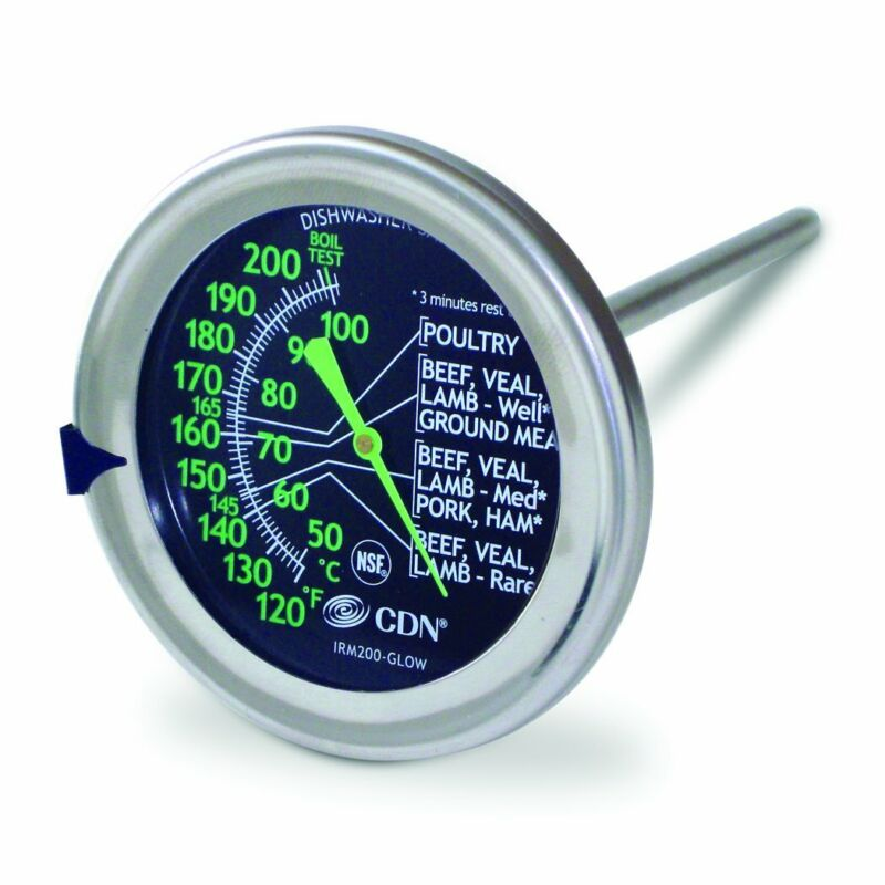 Cdn Irm200-Glow - Proaccurate Meat/Poultry Oven Thermometer-