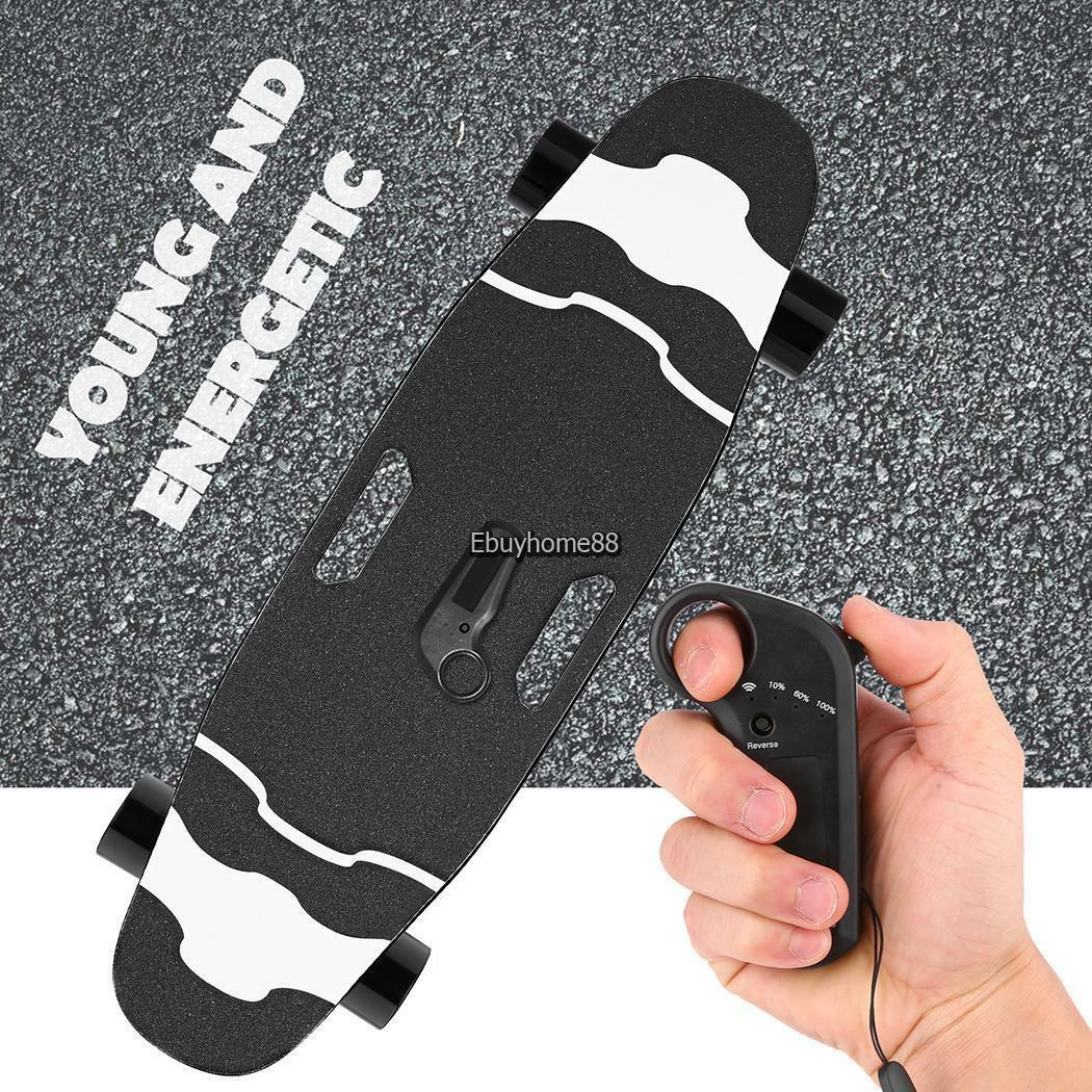 Electric Skateboard Longboard 350W Single Hub Motor Remote C