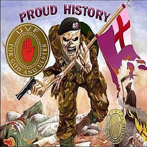 ***U.V.F***  PROUD  HISTORY  *** CD*** ULSTER LOYALIST/ORANGE/UVF/CD