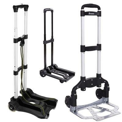 Portable 2 Wheels Lightweight Folding Hand Truck Heavy Duty Utility Cart Dolly