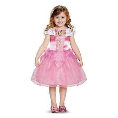 Aurora Toddler Classic Disney Princess Sleeping Beauty Halloween Child Costume - Princess Aurora Costume Toddler