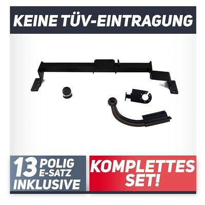 Anhängerkupplung starr TOYOTA Avensis Kombi EBA Elektrosatz Set kpl NEU inkl