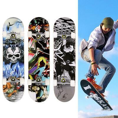 Professional Adult Skateboard Complete Wheel Truck Maple Cruiser Style Longboard