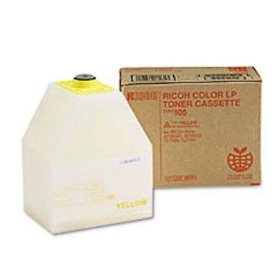 Yellow Toner Cartridge Ricoh Aficio AP3800C CL7000 -