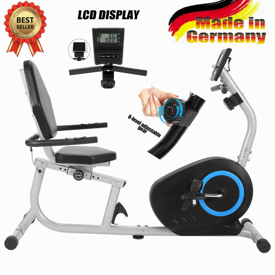 NEU! Liegeergometer Heimtrainer Fahrrad Testsieger Sitzergometer Ergometer 110KG