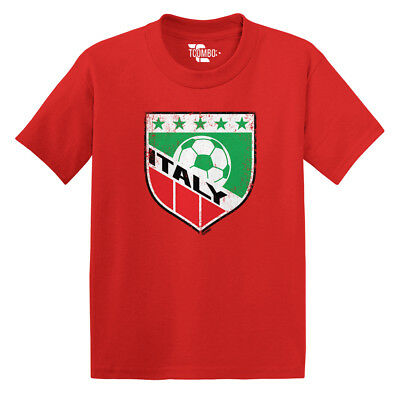 Italy Soccer -Football Futbal Club Team Sports Ball Toddler/Infant T-shirt Football Sports Toddler T-shirt