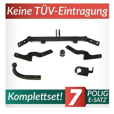 13polig E-Satz neu Für Citroen Berlingo 15-18 AUTO HAK Anhängerkupplung starr