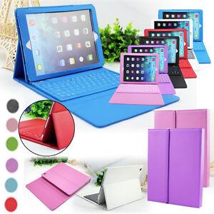 Funda-de-silicona-y-piel-PU-con-teclado-Bluetooth-para-iPad-5-Air-iPad-6-Air2