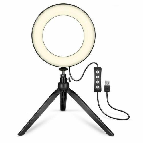 LED Photography Light - Dimmable Flash Lighting/Video Broadcasting and Stand
