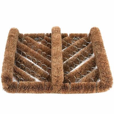 Door Coir Boot Shoe Scraper Brush Floor Scrubber Mud Dirt Cleaner Outdoor Rug US