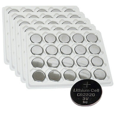 Cr2320 Lithium Coin Cell Batteries ((promotion)100x CR2320 BR2320 CR 2320 3V Lithium Coin Cell Batteries PKCELL )