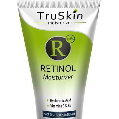 TruSkin RETINOL Cream MOISTURIZER for Face and Eye Area, Best for