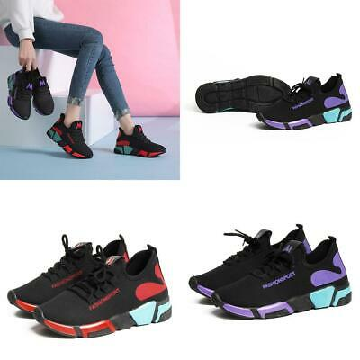 Women Casual Breathable Sport Shoes Lace Up Outdoor Running Shoes (Outdoor Sport Lace)
