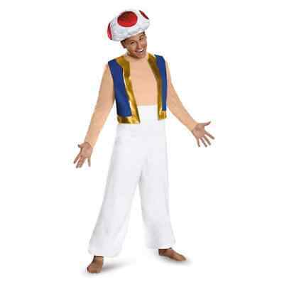 Toad Super Mario Brothers Nintendo Fancy Dress Up - Mario Brothers Toad Kostüme