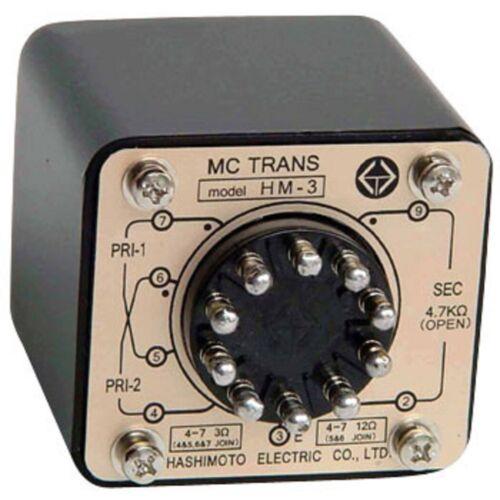 Hashimoto HM-7 MC Cartridge Step up input Transformer. (Reprint of Sansui)
