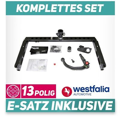 NEU inkl für AUDI A4 Avant +Elektrosatz Set kpl Anhängerkupplung ORIS abn EBA