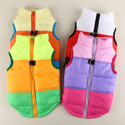 Pet Dog Clothes Puppy Insulated Padded Jacket Warm Winter Dog Coats Puppy XS M L 5