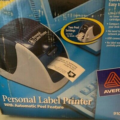 Avery 9100 Label Thermal Printer. Box Is Shelf Worn But Printer Is New.