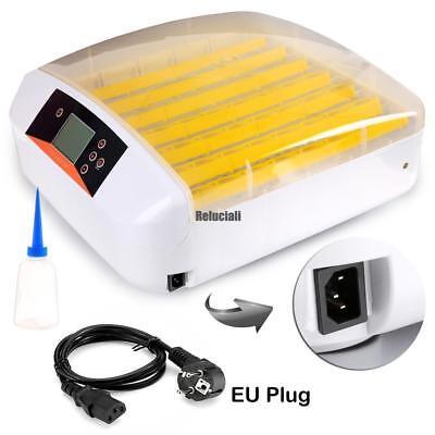 56 Eier Digital Brutmaschine Brutautomat Brutkasten Brutapparat Inkubator Neu