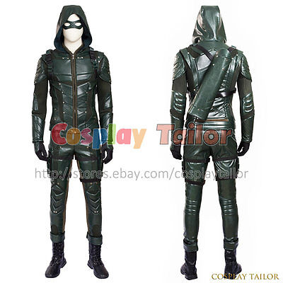 Green Arrow 5 Oliver Queen Cosplay Costume Amazing Uniform Halloween Outfit Cool - Amazing Halloween Outfits