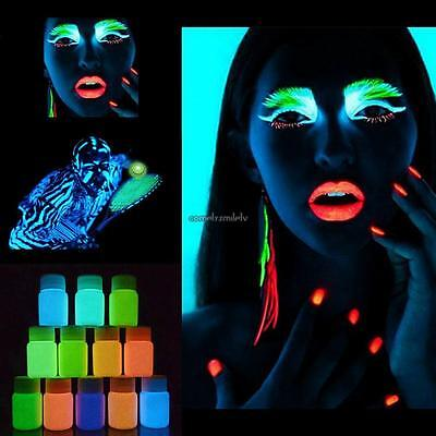 11 Color 1oz Airbrush Face & Body Art Paint Kit Water-Based Custom Temp - Halloween Art Paper Plates