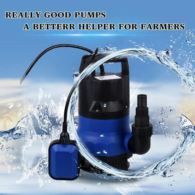 Homdox 12hp Submersible Water Pump Watering Flooding Pond Swimming Pool Drian