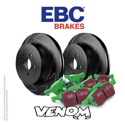 EBC Rear Brake Kit Discs & Pads for Seat Altea 2.0 Turbo FR 200 2005-2016