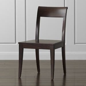 """Solid wood dining chairs """"Cabria"""" from Crate & Barrel"""
