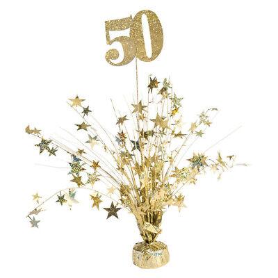 50th Anniversary Centerpieces (50th Anniversary Balloon)