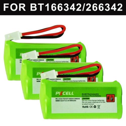 3x Cordless Phone Battery AAA 800mAh NI-MH 2.4V for VTech BT