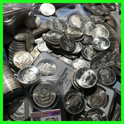 S Estate Coin Lot US Morgan Silver Dollar 1 PCGS or NGC UNC  P O CC Mint Slab