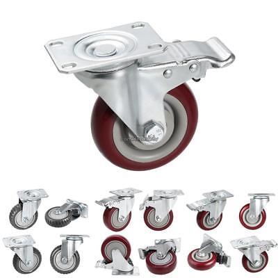 4pcs 900lbs Heavy Duty Swivel Caster Wheels Shopping Cart Furniture Caster Wheel