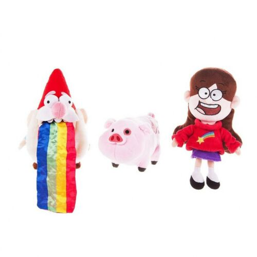 """Gravity Falls Waddles Pig Mabel Barfing Gnome Plushes Dolls Kids Toy 8"""" with Tag"""