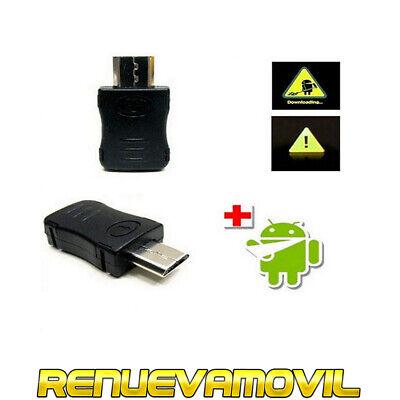 USB JIG Para Samsung Galaxy S5830 S2 S3 S4 S5 S6 S7...