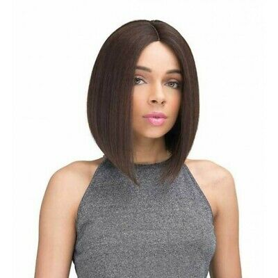 ENDAL - Straight Bob Style - Human Hair Blend Pre-Tweezed Wig - Janet Collection