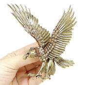 Swarovski Eagle Pin