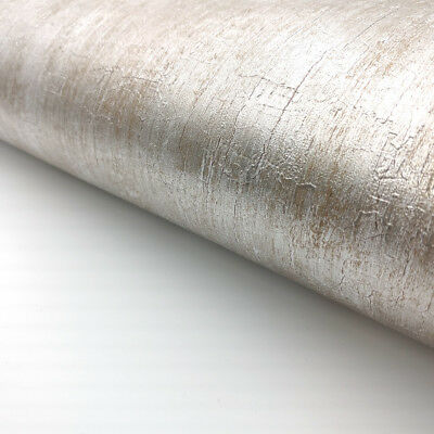 Silver Metallic Glitter Shinny Peel and Stick Wallpaper Embossed Contact Paper